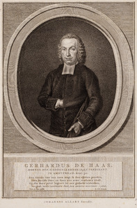 Portret van Gerardus Haas (1737-1817)