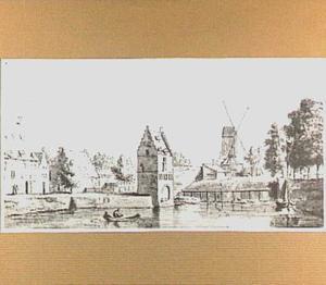 De Bottelpoort in Nijmegen, gezien vanuit het zuidoosten