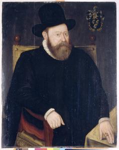 Portret van Pieter van der Goes (1533-1590)