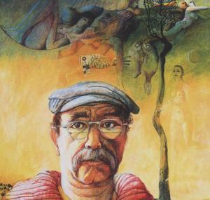 Portret van Nicolaas Wijnberg (1918-2006)