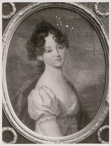 Portret van Henriette Alexandrina Frederika Wilhelmina van Nassau-Weilburg (1797-1829)