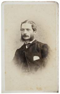 Portret van Bonifacius van der Haer (1837-1869)