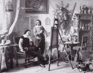Portret van mogelijk Lambertus Lingeman (1829-1894)