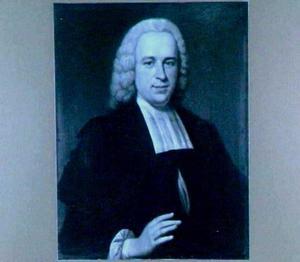 Portret van Sebaldus Rau (1724-1818), hoogleraar in Utrecht 1750-1816