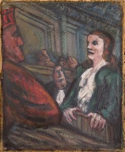 De getuige/ verdachte in de rechtbank