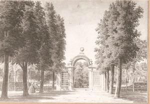 Het tuinpaviloen Chollon van de buitenplaats Bosch en Hoven bij Heemstede