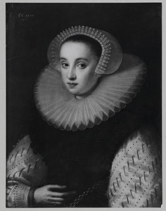 Portret van Hortensia del Prado ( -1627)