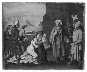 De vrouw van Potifar beschuldigt Jozef (Genesis 39)