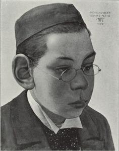 Portret van Bernard Constant (Bernardus Hilarius) Molkenboer (1879-1948)