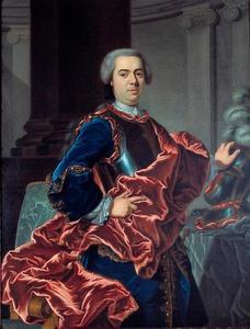 Portret van Jan Daniel d' Ablaing (1703-1775)
