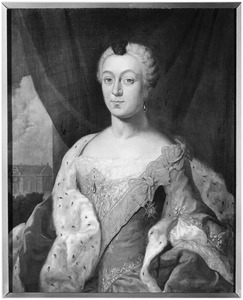 Portret van Sophia Charlotte Wilhelmina gravin van Rechteren tot Noorddeurningen (1729-1788)
