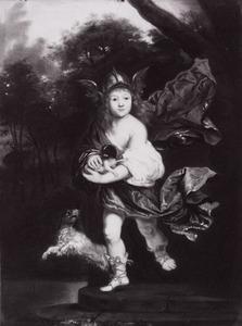Portret van een onbekende jongen als Mercurius
