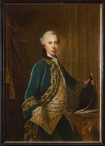 Portret van Willem Anne van Spaen la Lecq (1750-1817)