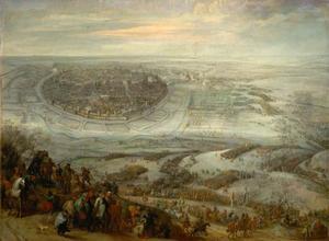 Het ontzet van Freiberg nabij Meissen door de keizerlijke troepen onder Ottavio Piccolomini, 27 december 1651
