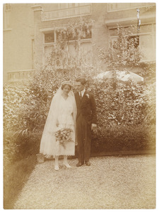 Portret van Hector Rümke (1896-1961) en Henriette Wilhelmina Johanna Everts (1893-1995)