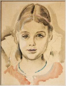 Ina van Blaaderen, studie voor familieportret
