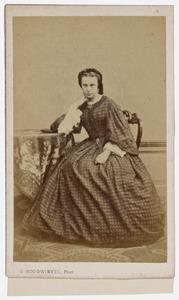 Portret van Geertruida Jacobina Vrijdag (1834-1896)