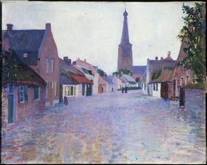 Dorpsstraat in Leende (Noord-Brabant)