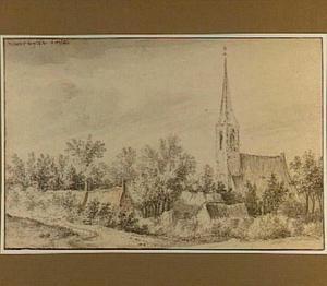 Noordwijikerhout met de Witte Kerk