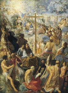 Het oprichten van het Kruis
