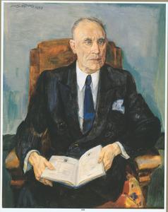 Portret van Willem Hoos