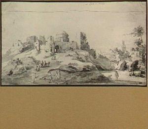Jeruzalem, gezicht vanaf de Olijfberg