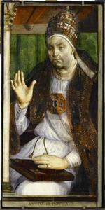 Paus Sixtus IV (1414-1484) uit de serie 'Beroemde Mannen'