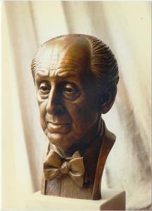 Portret van pianist Wladimir Horowitz (1903-1989)