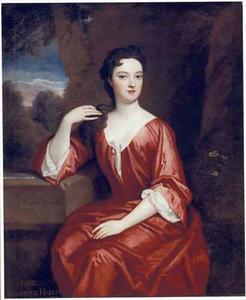 Portret van Elizabeth Harley, Marchioness of Carmarthen (?-1713)