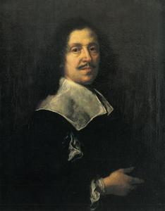 Justus Sustermans (1697-1681) Zelfportret
