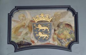 Engeltjes met het provinciewapen van Friesland