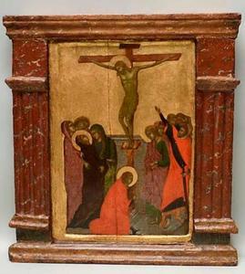 Kruisiging met meerdere figuren