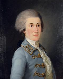 Portret van Adriaan Johannes van Tets (1764-1792)