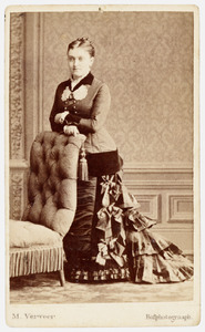 Portret van Annetta Bartolina Christina van der Schooren (1847-1930)