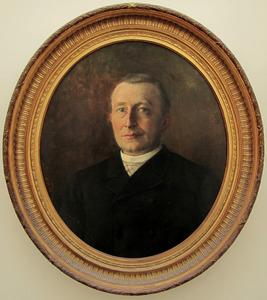 Portret van Johannes Antonius Hubertus Ignatius van der Vaart (1839-1915)