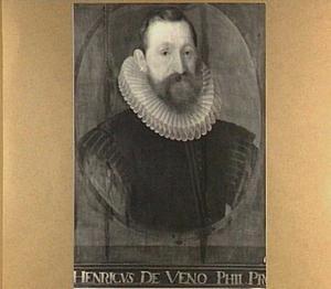Portret van Henricus de Veno (ca. 1570-1613)