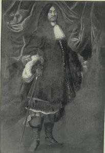 Portret van een man, mogelijk Niels Juel (1629-1697)