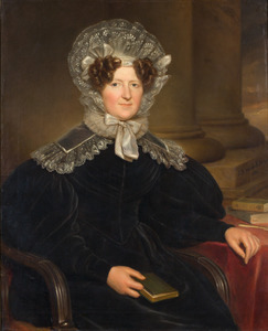 Portret van Jonkvrouw Geertruijd Sara Agatha van Pabst van Bingerden (1774-1866)