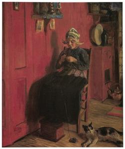 Het rode interieur (Maartje)