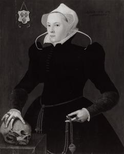 Portret van Alijt Claesdr. den Hartogh ( -1579)