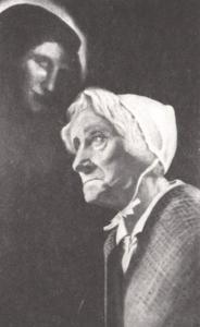 Portret van Esther van Rijk (1854-1937)