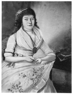Portret van Aleyda Cornelia Forsten (1777-1851)