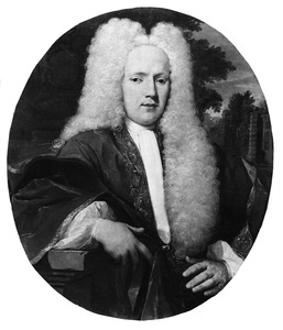 Portret van Lucas van Neck Merens (1698-1770)