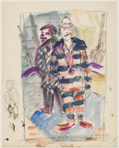Clowns in circus Boltini