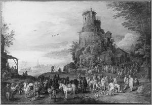 Landschap met het graf van Scipiones