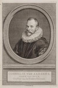 Portret van Cornelis van Aerssen (1543-1627)