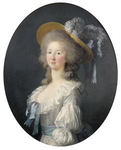 Portret van Marie-Louise-Thérèse de Savoy, prinses de Lamballe (1749-1792)