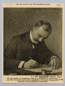 Portret van Professor Struyken