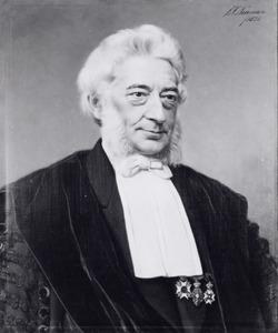 Portret van Friedrich Anton Wilhelm Miquel (1811-1871)