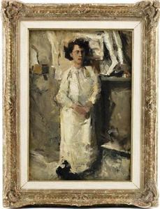 Portret van Theo Nieuwenhuis (1866-1951)